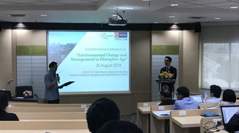 International Conference – 25 August 2018.